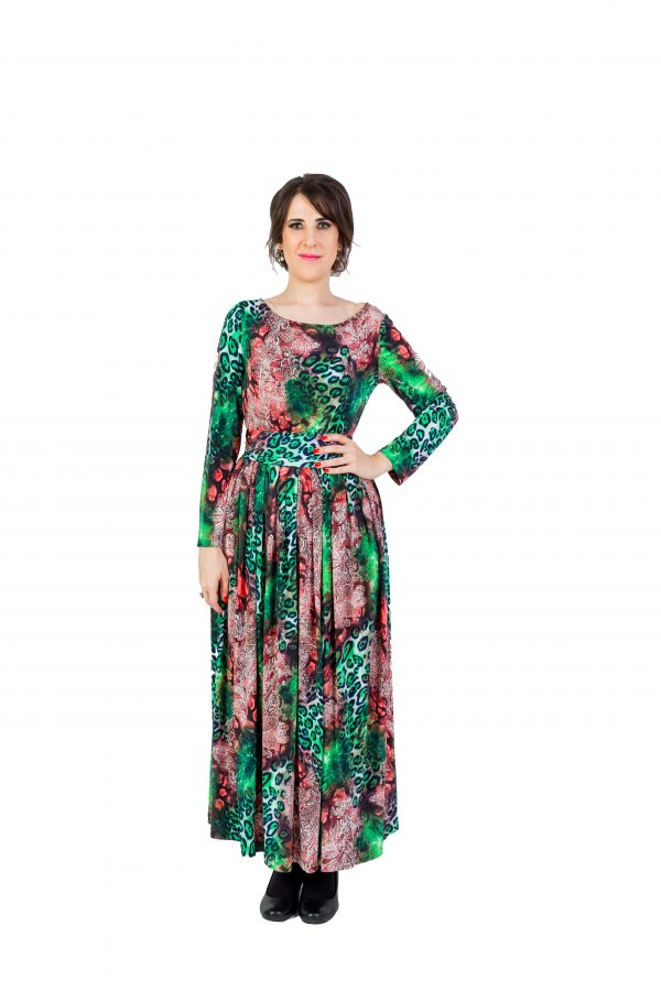Fairy Maxi Green Dress