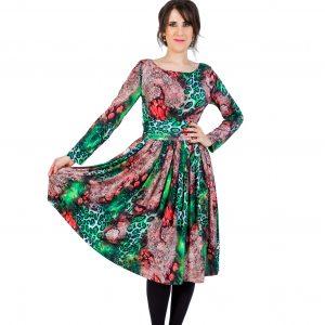 Fairy Green Midi Dress