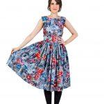Floral Summer Midi Dress